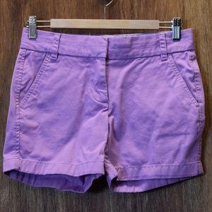 J. Crew Broken-In Chino Shorts, Size 0